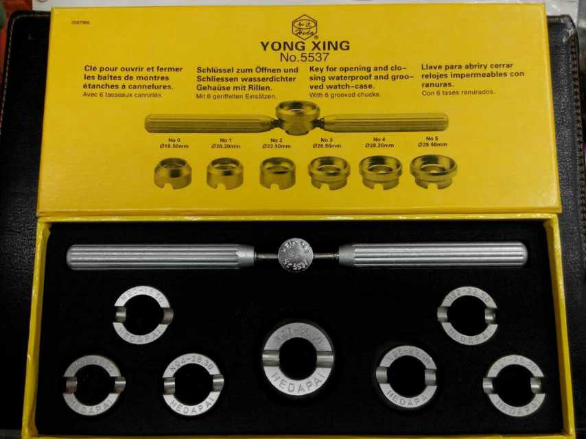 YONG XING Watch Tool 5537 Professional key for opening