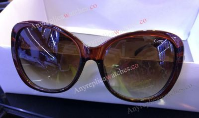 Cartier Sunglasses Brown Frame - Replica for Sale