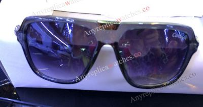 Replica Cartier Sunglasses Black Frame Low Price