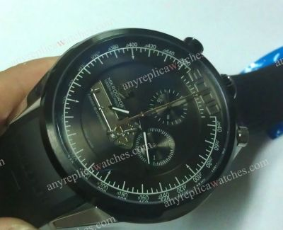 All Black Tag Heuer Mikrogirder 2000 Mens Quartz Replica Watch