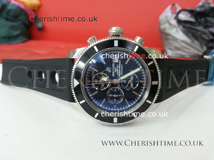 Breitling Superocean Heritage Chronograph w/ Rubber band