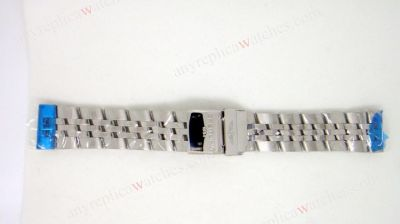 Aftermarket Steel Band 24mm for Breitling Super Ocean watch
