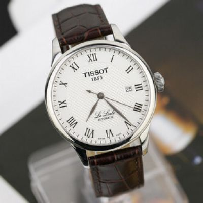 Brown TISSOT 1853 Automatic Leather Watch