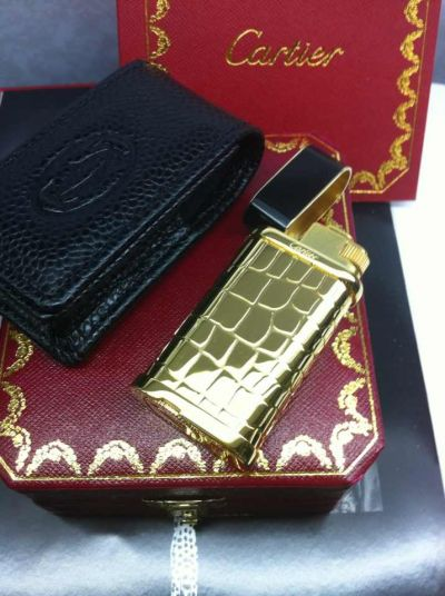 Cartier Lighter AAA Quality Gold / Super Quality Copy Cartier Li