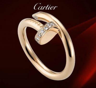 Cartier Juste Un Clou Ring with Diamonds