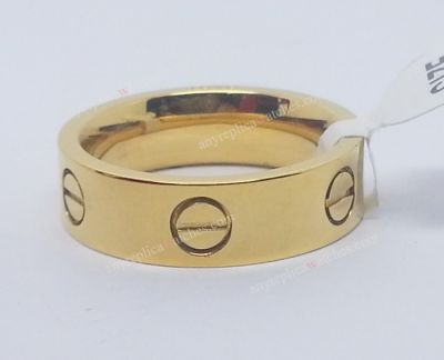 Cartier Ring yellow gold with diamonds