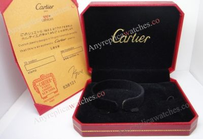 Cartier love Bracelet Red Box