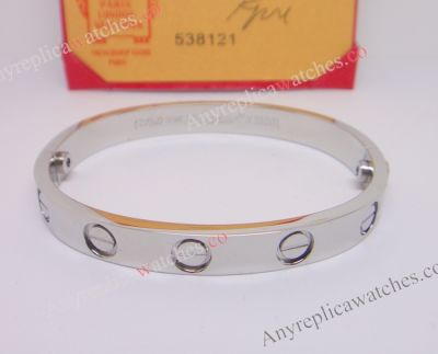 Cartier Love bracelet Stainless Steel Bracelet with screwdriver