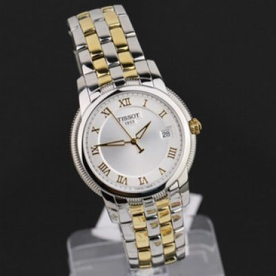 Classic TISSOT Automatic White Dial 2-Tone Watch