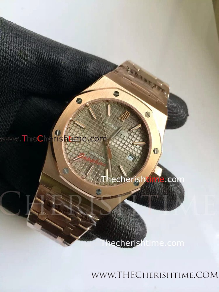 Copy Audemars Piguet GREY Dial Royal Oak Watch - Buy Wholesale