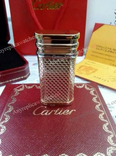 Copy Cartier Gold Lighter For Mens Gift