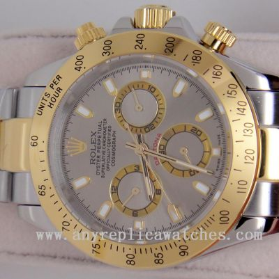 Rolex Daytona 2-Tone Gray Watch