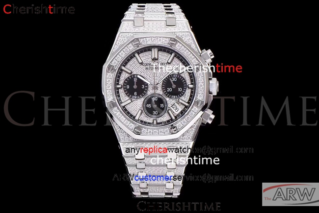 Fake Audemars Piguet Diamonds Dial All Diamonds Quartz Watch