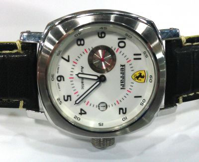 Ferrari White Face Automatic Movement Mens Replica Watch