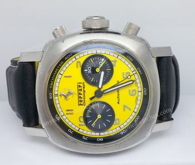 Ferrari Yellow dial 7750 Automatic movement swiss Watch