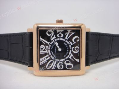 Franck Muller Master Square Rose Gold Replica Watch
