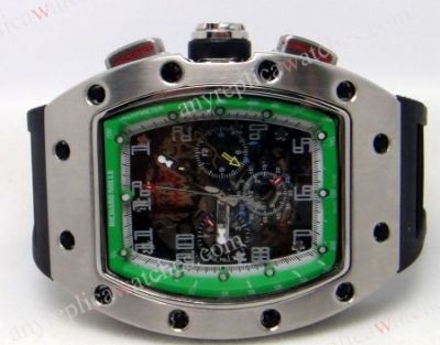 THE RICHARD MILLE CALIBER RM 011 Felipe Massa Flyback Chronograp