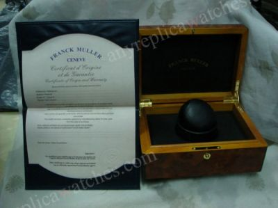 Deluxe Replica Franck Muller Watch Box - Solid Wood