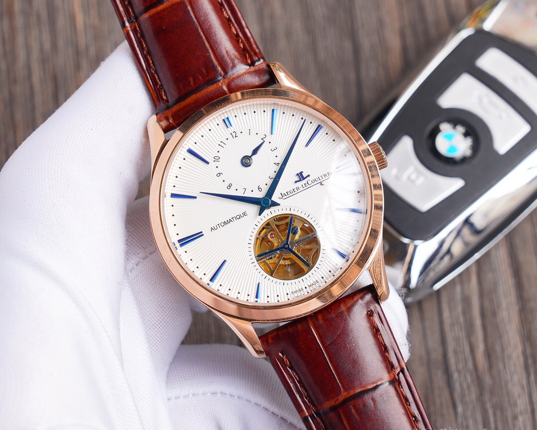 High Quality Copy Jaeger-LeCoultre Watch - Rose Gold Bezel