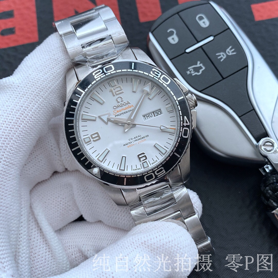 High Quality Replica Omega Seamaster Stainless Steel Watch