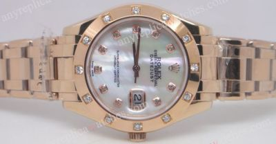 Higher Quality Rolex Masterpiece Datejust Everose Gold