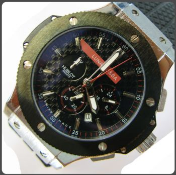 Hublot Big Bank King Luna Rossa Chronograph Men's Replica Watch
