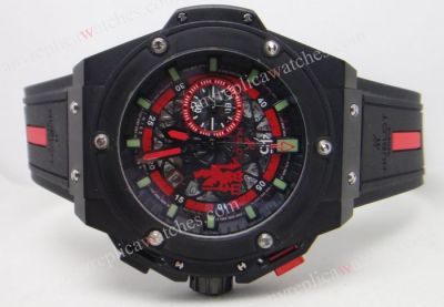 Hublot Big Bang King Power Red Devil Copy Watch - Quartz