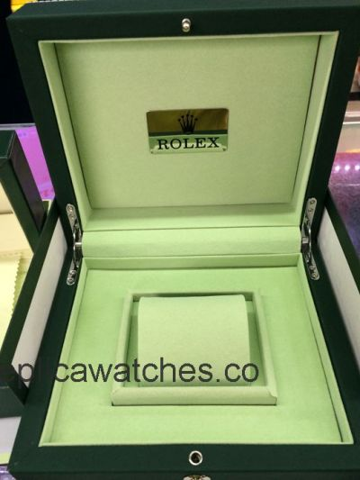 Nice Green Rolex Leather Watch Box