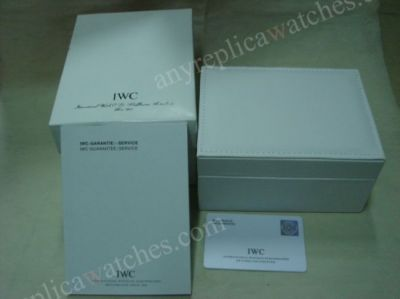 NICE Replica IWC Replacement Watch Box - White