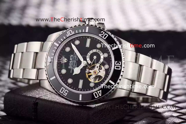 Rolex Oyster Perpetual Submariner Tourbillon Black Dial Copy