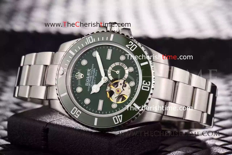 Rolex Oyster Perpetual Submariner Tourbillon Green Dial Copy