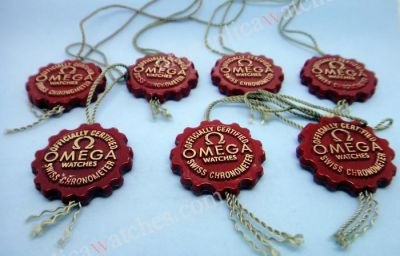 Omega Red hang tag
