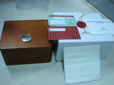 Omega Wood Watch box - Replacement Watch Box