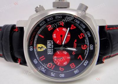 Panerai Ferrari Red Chronograph Quartz Watch