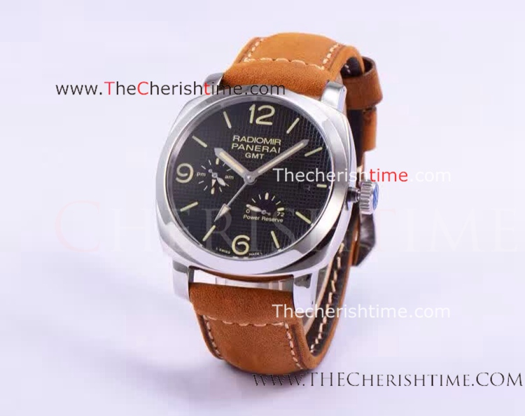 Panerai Radiomir GMT Power Reserve pam00628 SS Copy