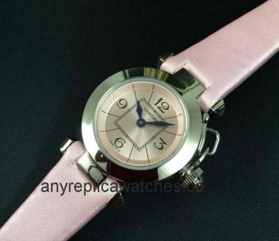Replica Cartier Pasha Lady Watch Pink Version