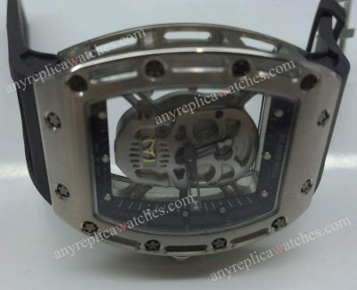 Copy Richard Mille Tourbillon RM052 Skull Gray Version