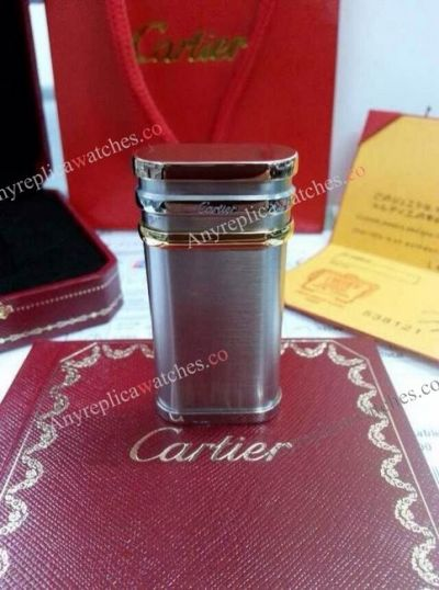 Replica Cartier 3-Tone Lighter For Mans Gift