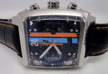 replica tag heuer monaco 24 calibre 36 replica watch black face