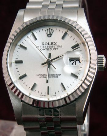 Rolex Datejust SS Silver Face / Watches from China