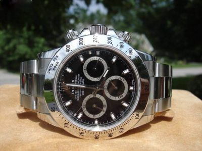 Rolex Daytona Stainless Steel Black High Quality watch