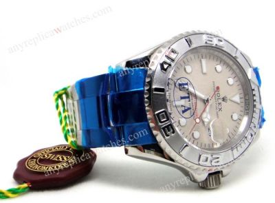 Swiss Eta 2836 Movement /Rolex Yacht Master Stainless Steel gran