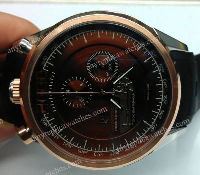 Rose Gold Tag Heuer Mikrogirder 2000 Mens Quartz Watch