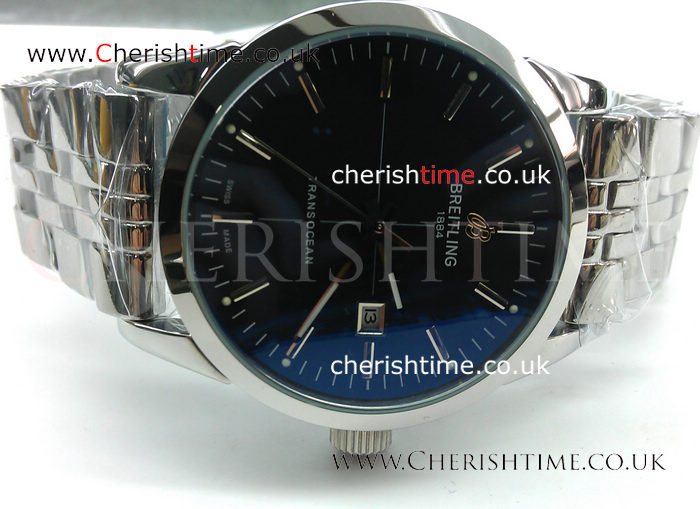 Stainless Steel Breitling Transocean Replica Watch