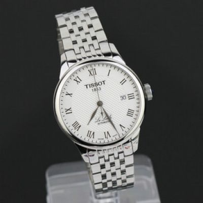Replica Tissot Classic Watch: TISSOT Le Locle SS White Roman
