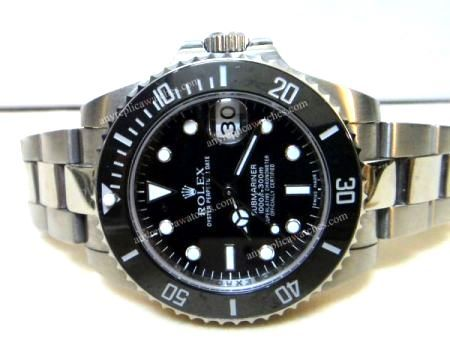 Ceramic Bezel rolex submariner 36mm Black face Lady's size