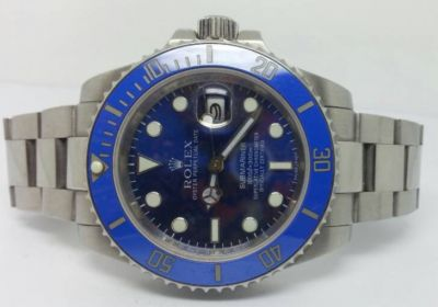 Ceramic Bezel Rolex Submariner Stainless steel Blue Face