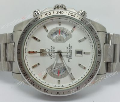TAG CARRERA CALIBRE 17 STAINLESS STEEL REPLICA WATCH