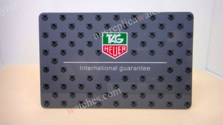 TAG HEUER Warranty cards