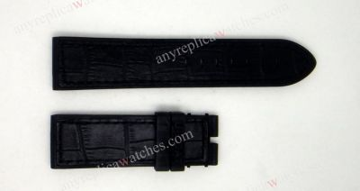 U-Boat Black Leather band 22mm NO CLASP